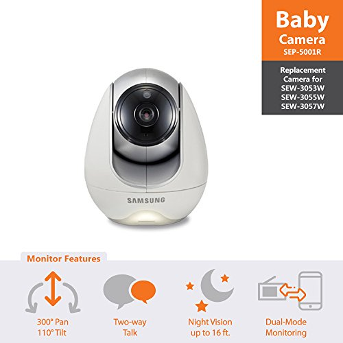 SEP-5001R - Samsung Wisenet Babyview Baby Video Monitoring System Additional Camera
