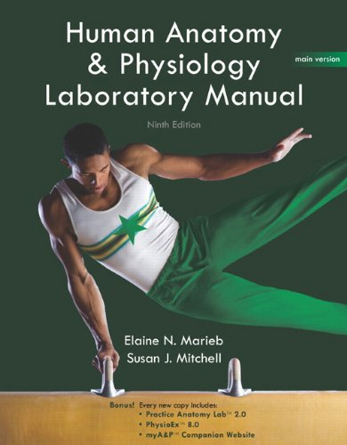 Human Anatomy & Physiology Lab Manual, Main Version (9th (Main Manual)