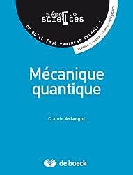 Mécanique quantique: Mémento