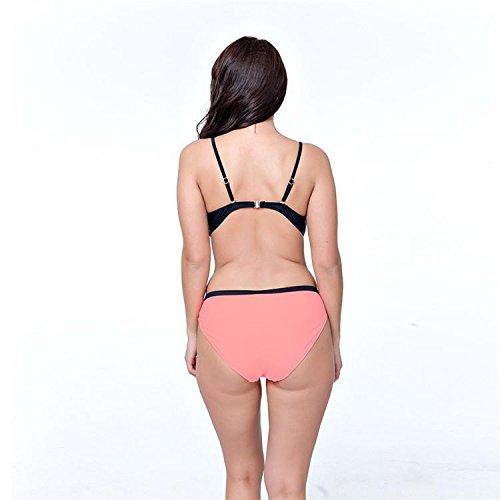 AMYMGLL Bikini-Damen-Badeanzug zwei Anzug dünnen sexy großen europäischen und amerikanischen populären heißen Frühling Strand Umwelt hohe Elastizität ist , , 50/5xl