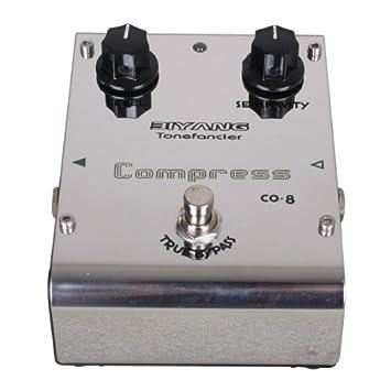 CO-8 bajo Biyang-Pedal de efecto para guitarra Parche-Compresor: Amazon.es: Electrónica