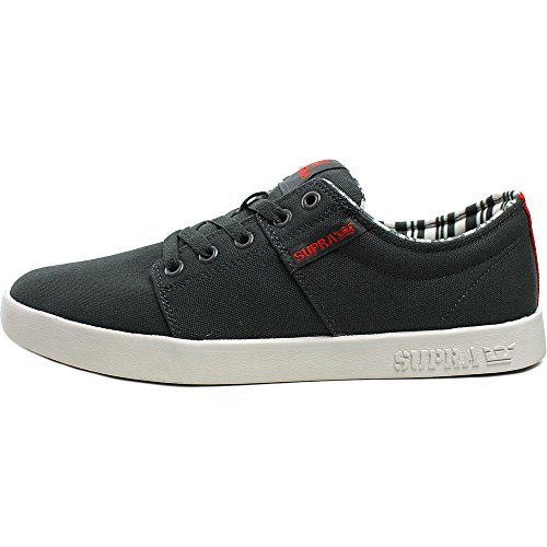 Supra Chaussures Stacks II Dark Grey White