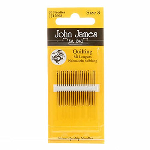 - Colonial Needle Quilting/Betweens Hand Needles-Size 8 20/Pkg