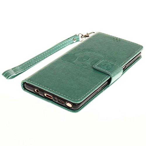 COWX Samsung Galaxy Note 8 Hülle Kunstleder Tasche Flip im Bookstyle Klapphülle mit Weiche Silikon Handyhalter PU Lederhülle für Samsung Galaxy Note 8 Tasche Brieftasche Schutzhülle IOOetMQ