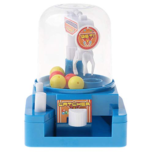 - Mini Claw Game Toys Candy Grabber Catcher Balls Machine Grabber Toy Creative Catcher Toy Educational Toy for Children Blue 1Set