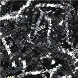 Aviditi CPB10FF Crinkle Cut Paper, 10 lbs per Case, Black/Silver (Case of 10)