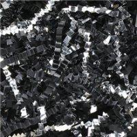 Aviditi CPB10FF Crinkle Cut Paper, 10 lbs per Case, Black/Silver (Case of 10) by Aviditi