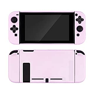 GeekShare Protective Case Slim Cover Case for Nintendo Switch and Joy Con - Shock-Absorption and Anti-Scratch (Lilac Purple)