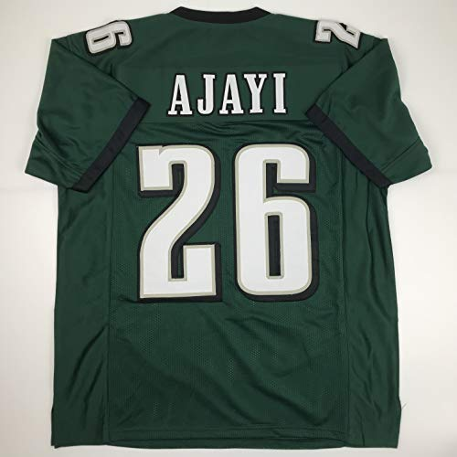 Unsigned Jay Ajayi Philadelphia Green Custom Stitched Football Jersey Size Men's XL New No Brands/Logos (Signed Eagles Jersey Green)