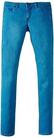 Levi's Big Girls' Cady Color Surge Skinny, Brisk Blue Surge, 8