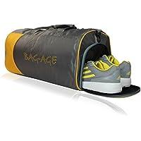 AREO Bag-Age Nylon Grey 900 cm Softsided Duffle Bag