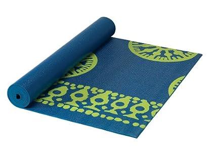 Amazon.com : Gaiam Sundial Print Yoga Mat 24 x 68 ...