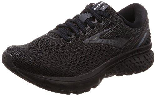 Brooks Womens Ghost 11 Running Shoe - Black/Ebony - D - 5.0 by Brooks (Image #1)