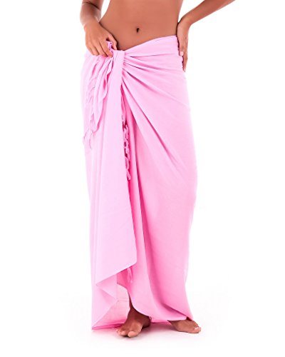 Skirt Suit Black Pink - Shu-Shi Womens Beach Cover Up Sarong Swimsuit Cover-Up, Baby Pink, One Size,Baby Pink,One Size