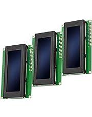 AZDelivery 3 x HD44780 2004 LCD-Display 4x20 Tekens Blauw compatibel met Arduino Inclusief E-Book!