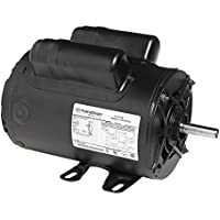 Marathon 9040 56 Frame Open Drip Proof 5KCR48UN2654Y Air Compressor Motor, SPCL hp, 3600 rpm, 230 VAC, 1 Phase, 1 Speed, Ball Bearing, Capacitor Start/Capacitor Run, Rigid Base
