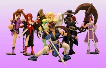 SR series Guilty Gear X 1.5Ver. Collection full set of 6