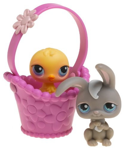 Littlest Pet Shop Pet Pairs Figures Bunny /& Chick Hasbro