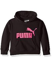 PUMA Girls Girls' Fleece Hoodie Hooded Sweatshirt