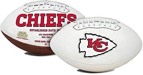 Amazon Com Kansas City Chiefs Embroidered Logo Signature Series