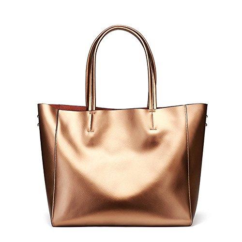 Nouveaux Bronze Sacs Violet Simple GWQGZ Capacité Grande À Épaule Sac Simple De Mode 2018 De Dames Color Main F4axRwq
