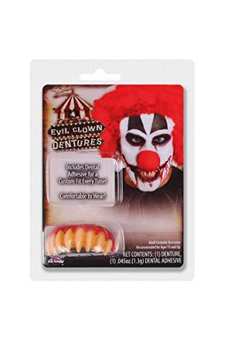Scary Teeth Halloween (Killer Clown Dentures)