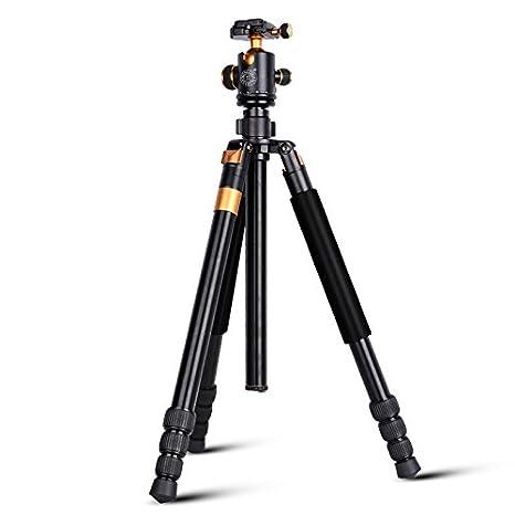 Morjava® Q555 Portable professionnelle en magnésium en alliage d aluminium  Caméra trépied Monopod et d3209d19a299