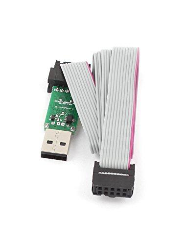 USBASP Programmer Adapter w 10 Pin Cable ATMEGA8 ATMEGA128 for Arduino