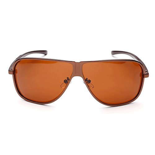 LOMOL Mens Cool Retro Aviator Style Lightweight Aluminum Magnesium Metal Frame Polarized Driving - Prices Sunglasses Www.ray-ban