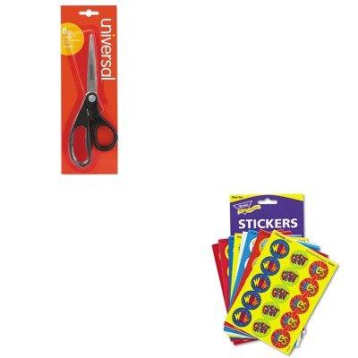 Stinky Stickers Value Pack - KITTEPT6490UNV92009 - Value Kit - Trend Stinky Stickers Variety Pack (TEPT6490) and Universal Economy Scissors (UNV92009)