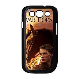 War Horse funda Samsung Galaxy S3 9300 caja funda del teléfono celular del teléfono celular negro cubierta de la caja funda EEECBCAAL08671