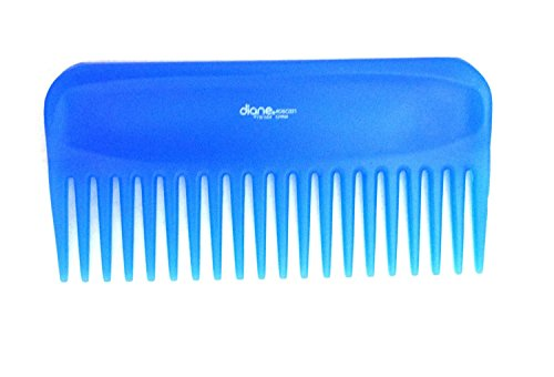 MayaBeauty Wide Tooth Comb Blue product image