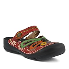 Multi color clog with adjustable strap and embossed details