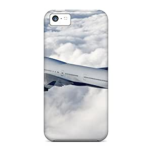 Top Quality Case Cover For Iphone 5c Case With Nice Boeing 747 Delta Airlines Appearance