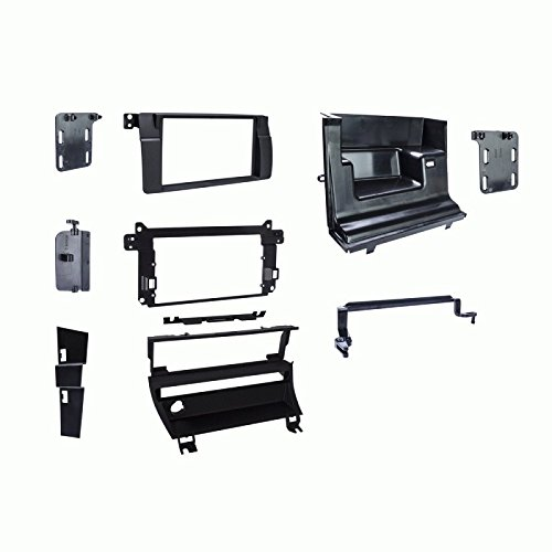 Metra 95-9313B Double DIN Dash Kit For 1999-2006 BMW 3-Series - 1 Switch by Metra