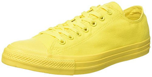 Converse Zapatillas All Star Ox Monochrome Amarillo EU 43