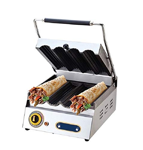 Amazon.com: Restaurant Commercial industrial Catering Cafe Wrap Tortilla Roll Sandwich Press Maker Machine Grill Griddle (2 Compartment Model): Kitchen & ...