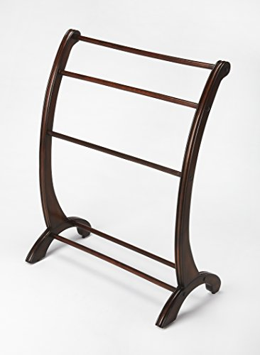 Nathaniel Blanket Stand in Brown by Butler