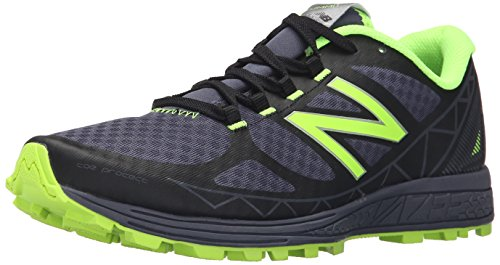New Balance Mens MTSUMV1 Trail Shoe Black/Thunder