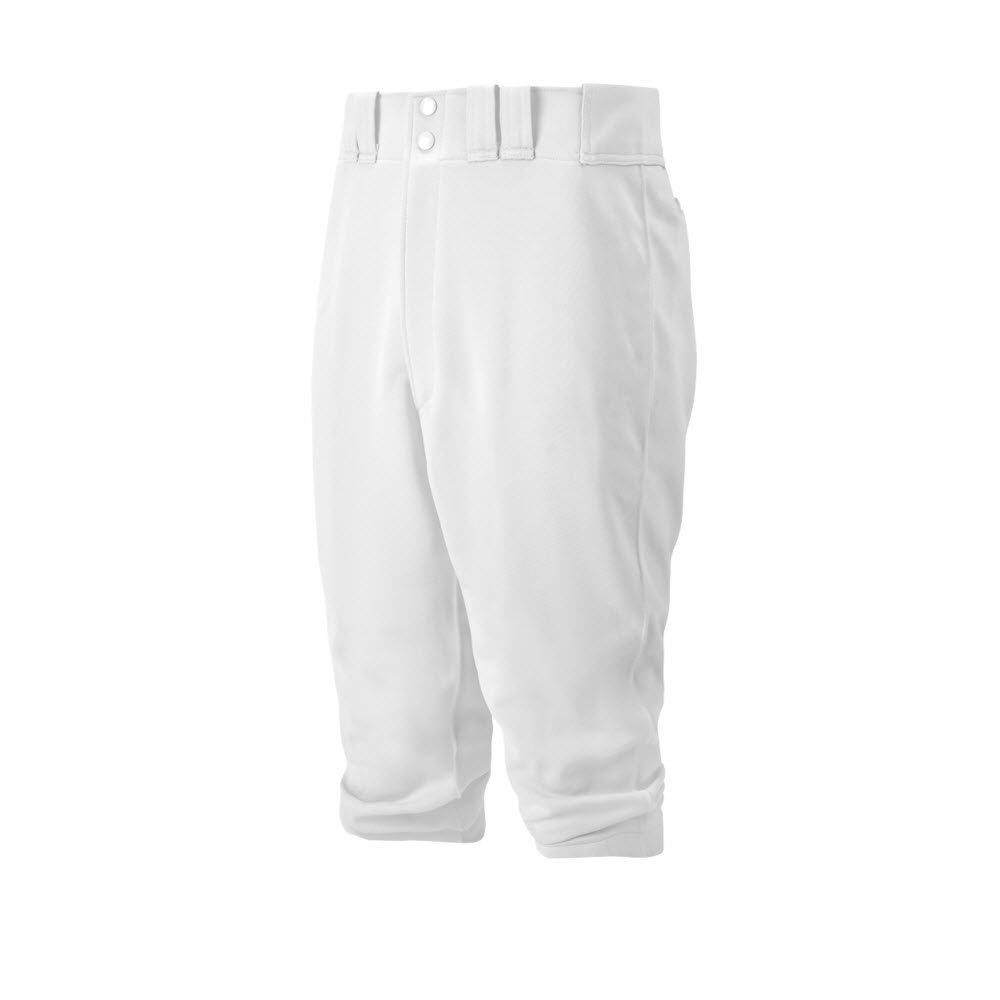 Mizuno Adult Premier Short Baseball Pant, White, X-Large by Mizuno