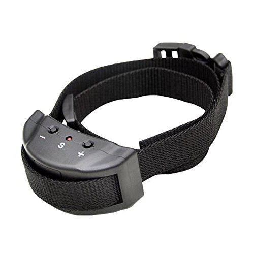 IUME Dog Bark Collar No Bark Collar Sonic Bark Deterrents Training System Electric Shock Control For Small Medium Large Dogs,Gentle Shock,Safe Bark Collars Adjustable Size