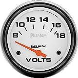 Auto Meter 5891 Electric Voltmeter Gauge
