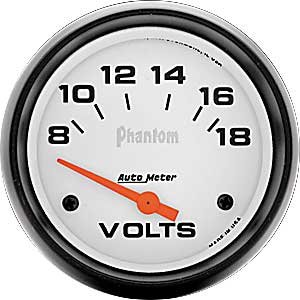 Auto Meter 5891 Electric Voltmeter Gauge