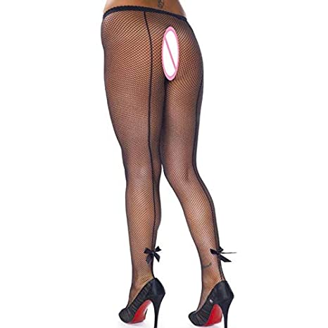Amazon.com: Lannmart Women Tights Plus Size Pantyhose Back Seam Sexy Pantyhose Black Lace Tights Fishnet Hosiery Floral Tights Collant Femme: Kitchen & ...