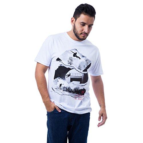 Camiseta Basica Rail 150 - Branco - M