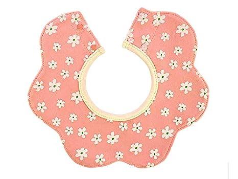 FOOBRTOPOO Toalla para bebés pequeños Toalla Baberos para bebés Babero Drool Adecuado para niños de 0 a 3 años (Rosa) Babero: Amazon.es: Bebé