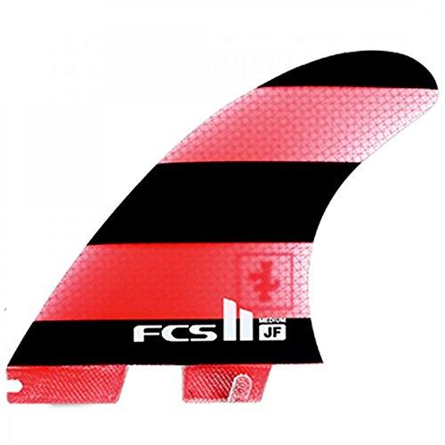 FCS II JF Jeremy Flores Performance Glass Tri Fin Set - Medium by FCS