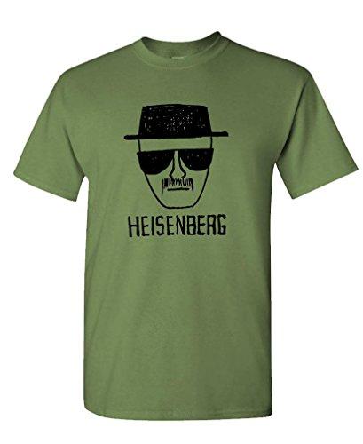 HEISENBERG - bad walter white meth Tee Shirt T-Shirt, S, Army