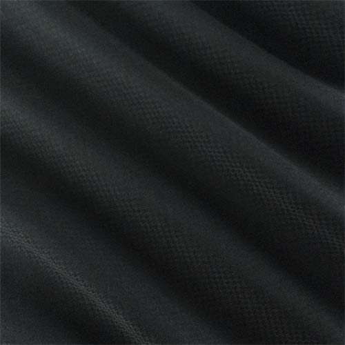 Black Wool Blend Micro Houndstooth Suiting, Fabric by The Yard - Wool Blend Suiting