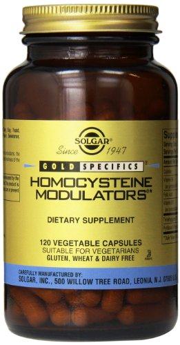 Solgar - Homocysteine Modulators, 120 Vegetable Capsules